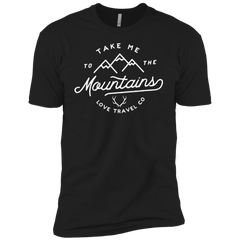 Image of Take me to the Mountain l Men's T-shirt