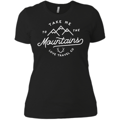 Image of Take me to the mountain l Ladies comfort fit