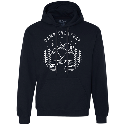 Camp Everyday (Unisex) Heavyweight Pullover Fleece Sweatshirt