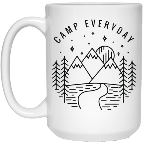 Camp Everyday White Mug