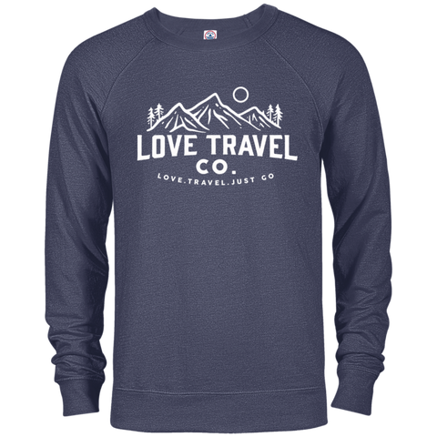 Love Travel Co French Terry Crew