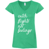 Image of Catch Flights Not Feelings Tee (Women) | Multi-Colors