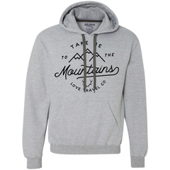 Take me to the Mountain (unisex) Heavyweight Pullover Fleece Sweatshirt
