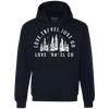 Image of Love. Travel. Just Go. (Unisex) Pullover Fleece Sweatshirt
