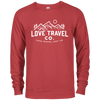 Image of Love Travel Co French Terry Crew
