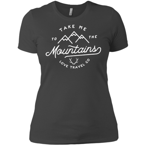 Take me to the mountain l Ladies comfort fit