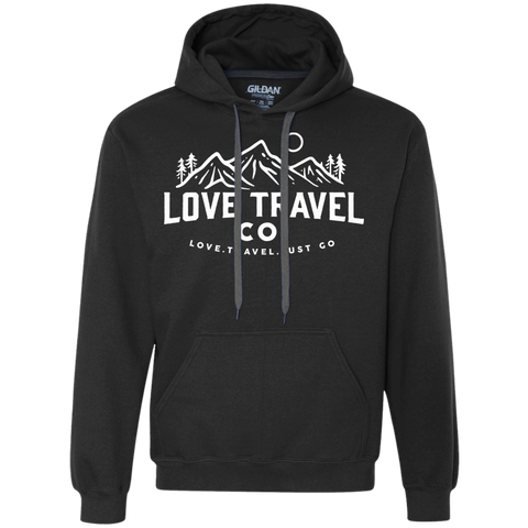 Love Travel Co (unisex) Pullover Fleece Sweatshirt