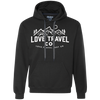 Image of Love Travel Co (unisex) Pullover Fleece Sweatshirt