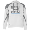 Image of Hustle. Travel. Repeat Colorblock Hoodie