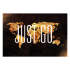 Image of Just Go. | Landscape Travel Canvas