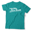 Image of Less Bills, More Thrills Tee (Unisex) | Black + Teal