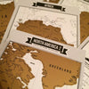 Image of The Ultimate Travel Log® | Gold Edition [Includes 8 Mini Scratch Off Maps]