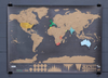 Image of Scratch Off World Map for World Travelers
