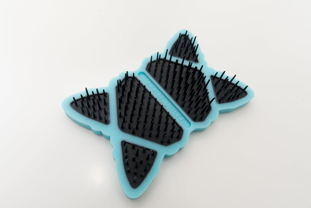 The Anipure BendiBrush is the best grooming tool for dogs and cats.  It has flexible bristles and a bendable body.  Works for short hair and long hair dogs and short hair and long hair cats. It's a groomer created pet brush.  The brush body bends to contour around the pet to reach sensitive areas.  This is the best dog brush and best cat brush for detangling and deshedding.  It removes excess undercoat.  Gengle dog brush and gentle cat brush makes grooming fast, fun and easy.  Rounded bristle tips and multiple size bristles prevent scratching and injury and helps to remove knots and tangles.  The brush massages and grooms with rounded strong and flexible bristles.  The dog and cat brush is designed to handle comfortably and groom dogs and cats gently.  The grooming brush can be used wet or dry for all size dogs and cats.  Great brush for puppies and kittens.