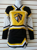 Rhythm Deluxe Cheer Uniform Pkg w/sublimated logo