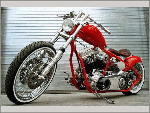 Wishbone Rigid Frame for Harley Davidson