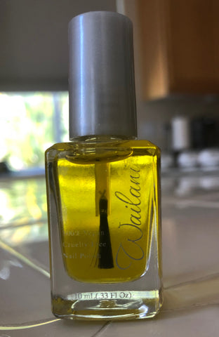 Olive Oil for Healthy Cuticles