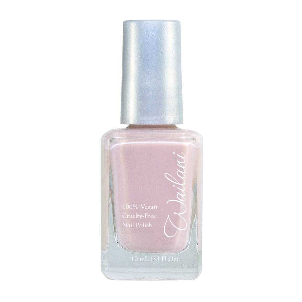 Cruelty-Free Nail Polish, Nontoxic, Vegan, Light Nude, Wailani Nail Polish