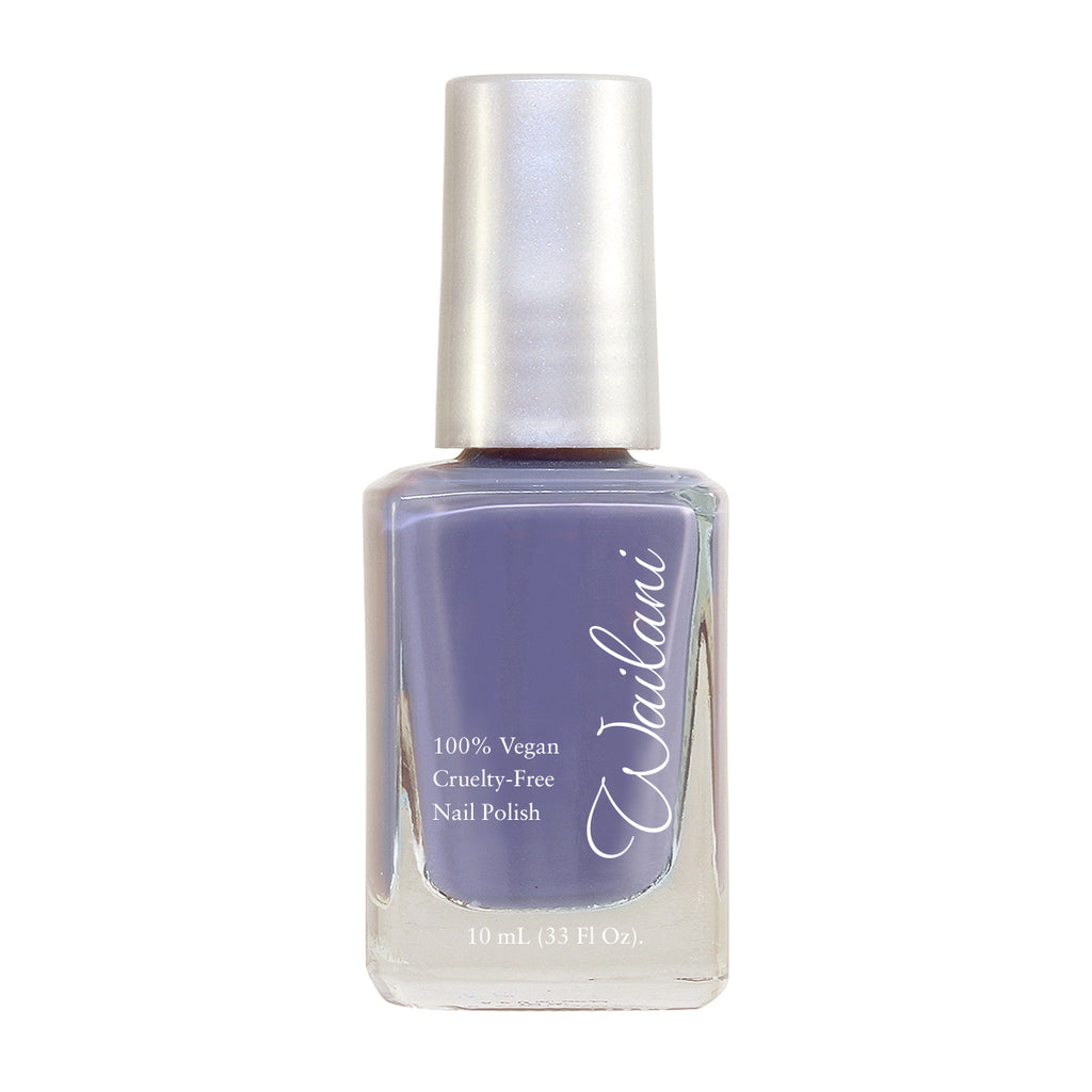 Cruelty-Free Non-toxic gray nail Polish from Wailani Jewelry & Beauty