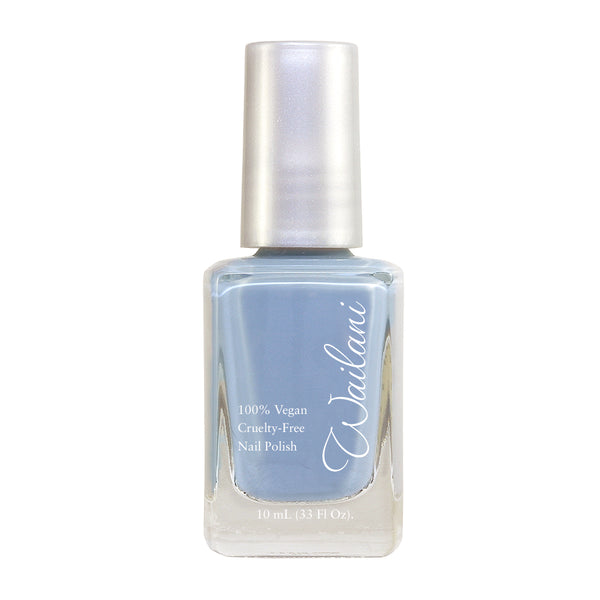 Light Gray Nail Polish - Non toxic, Vegan, Cruelty-Free - Wailani Jewelry & Beauty