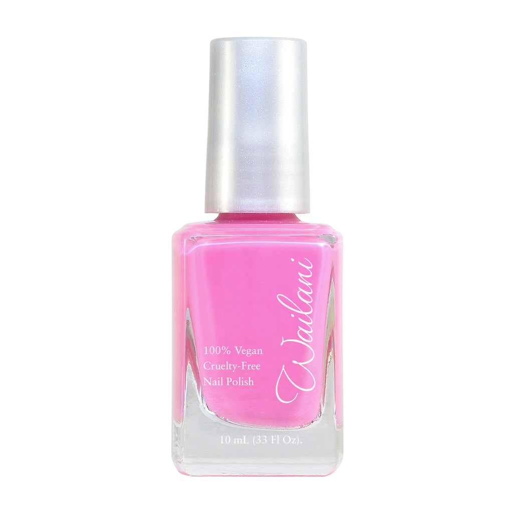 Barbie Nails - Bubblegum Pink Nail Polish - Beach Babe - Wailani Jewelry & Beauty
