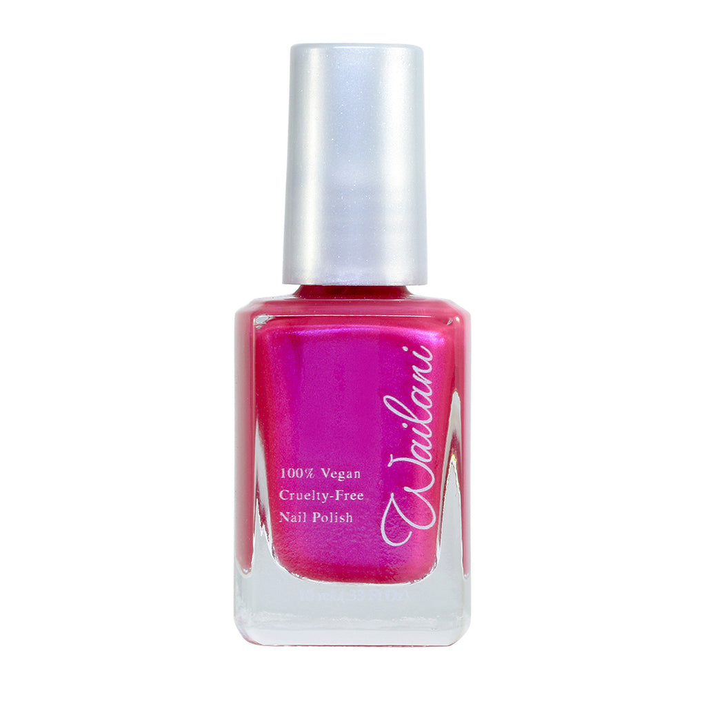 Girks' Night Out - Bright Pink Nail Polish from a Wailani - Nontoxic, Vegan, Cruelty-Free