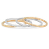 Cheap rings - gold and silver stacking rings by Wailani Jewelry & Beauty