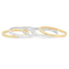 Set of Handmade Gold & Silver Stacking Rings by JYLA Jewelry