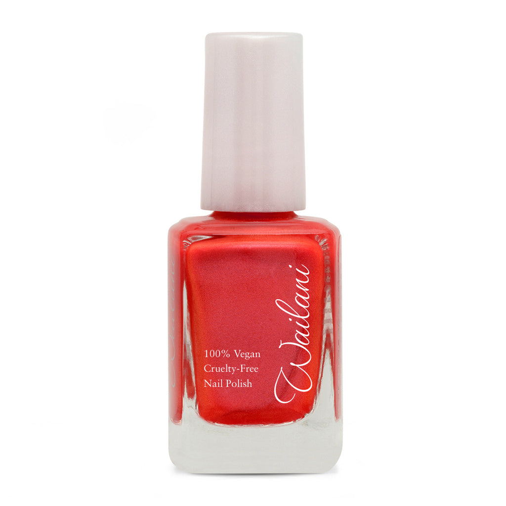 Coral Cruelty-Free Nail Polish, Non Toxic, Vegan, Made in USA Wailani Nail Polish