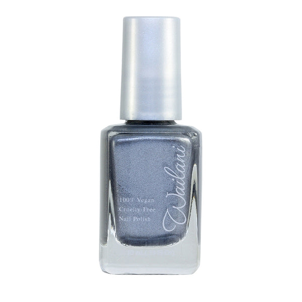 Cruelty-Free Nail Polish that is Non Toxic, Vegan, & Made in the USA - Metallic Grey