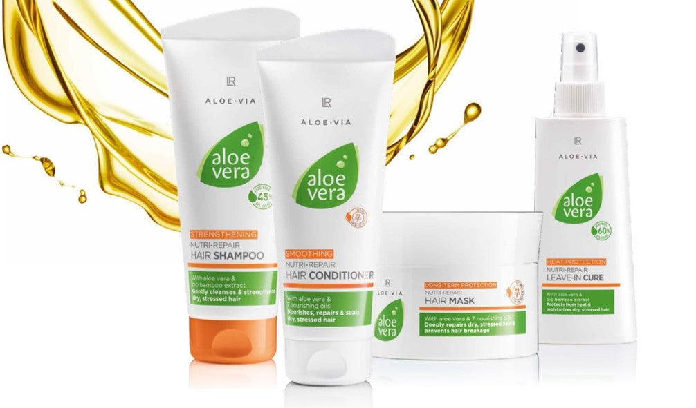 Aloe Vera Hair Care Set