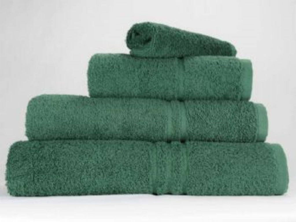 Bottle Green Hand Towels