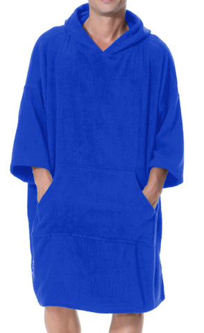 Adult Changing Robe Royal Blue