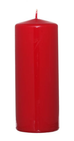 Red Pillar Candle - 60mm x 150mm