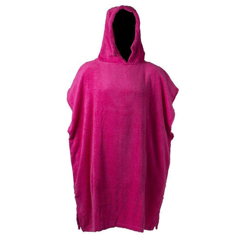 Kids Changing Robe in Hot Pink - Luxury 400gsm - 6 to 8 yrs
