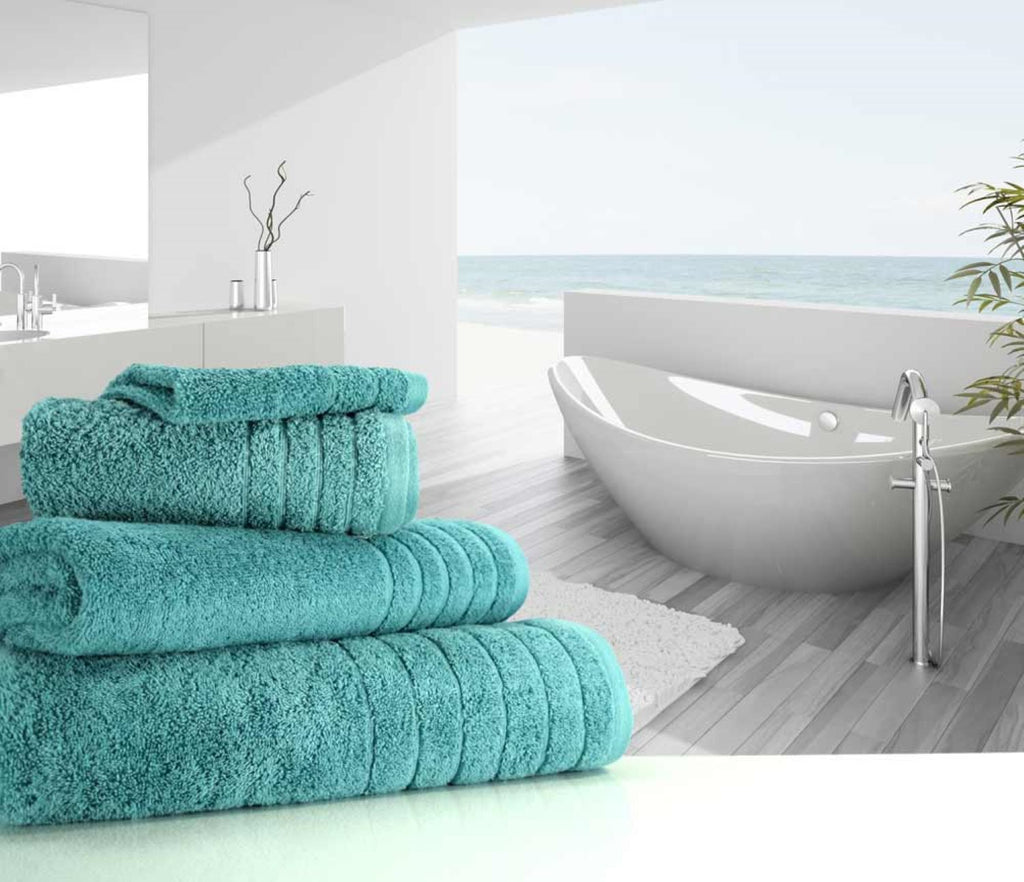 Luxury Cotton Bath Towel Teal