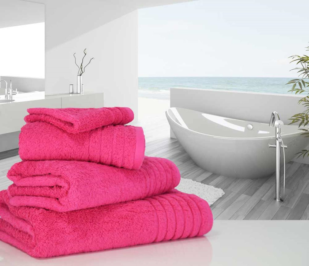 Luxury Cotton Bath Towel Pink
