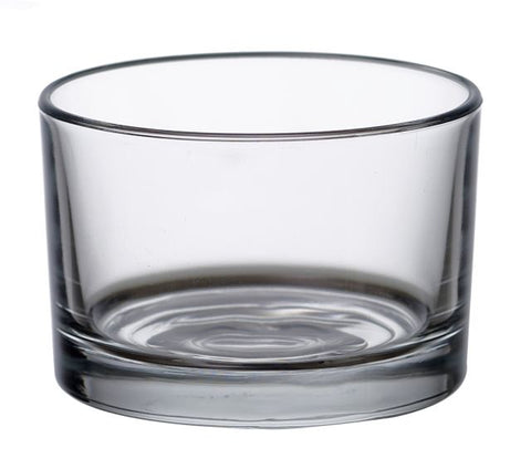 Jumbo Tea Light Glass - Votive glass - 8.6cm x  5.8cm clear - Kimi's Beauty Shop
