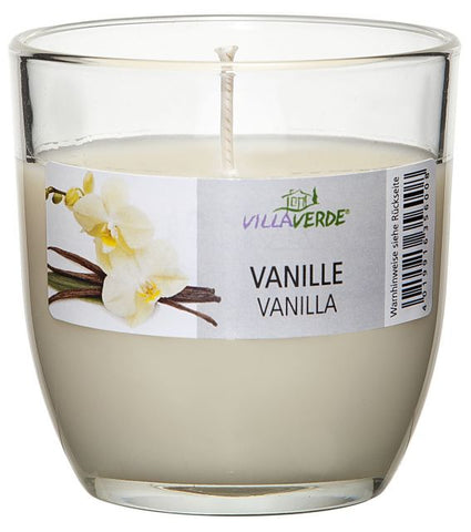 Vanilla Scented Candle in a Glass