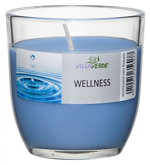 Wellness Scented Candle in a Glass - Kimi's Beauty Shop