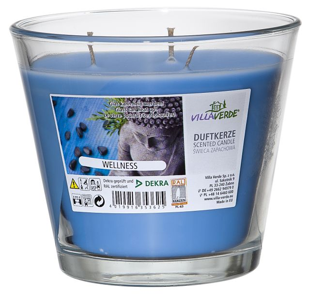 Wellness 3-wick Scented Candle in a Glass - Kimi's Beauty Shop