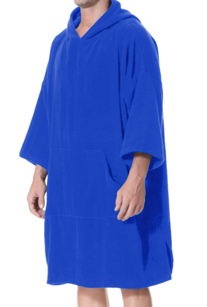 Adult Changing Robe Royal Blue - Length 110 cm
