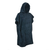 Adult Changing Robe Navy Blue/Black - Kimi's Beauty Shop
