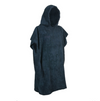 Kids Changing Robe in Navy - Black - Luxury 400gsm - 6 to 8 yrs - Kimi's Beauty Shop