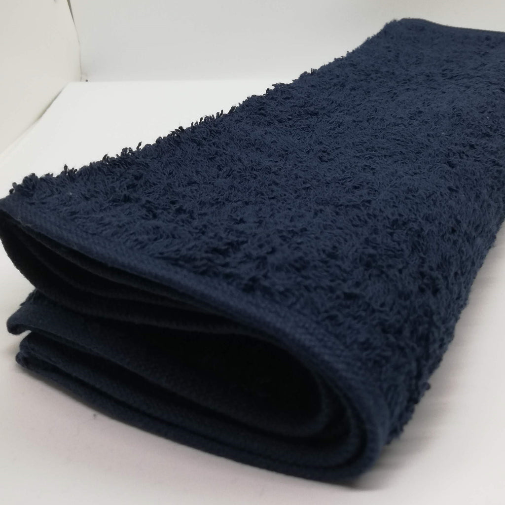 Gym Towel Colour Navy Blue - 30x100 cm - Kimi's Beauty Shop