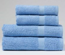 Sky Blue Hand Towel - 50x90 cm - 100% Cotton