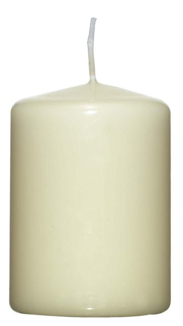 Pillar Candle Champagne - 60mm x 80mm