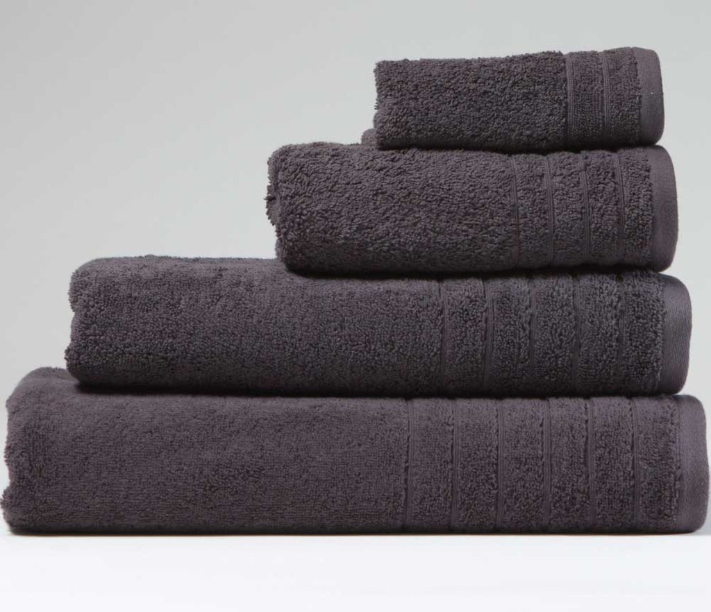 Luxury Cotton Face Cloth Charcoal