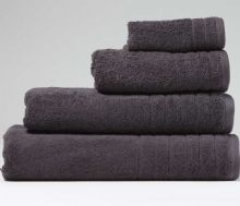 Charcoal Jumbo Bath Sheet - 120cm x 200cm - 100% Cotton - 550GSM