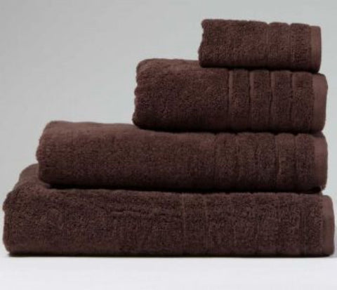 Luxury Cotton Bath Towel Chocolate